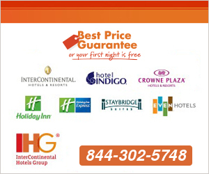 InterContinental Hotel & Resorts Toll Free Phone Number for Reservations