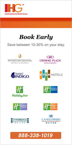 IHG Hotel Reservations in Texas Toll Free Phone Number